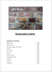 menu a